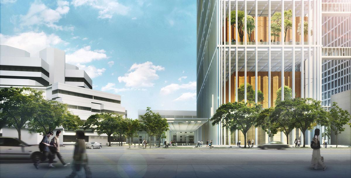 SSC, entrance (Image: Serie Architects)
