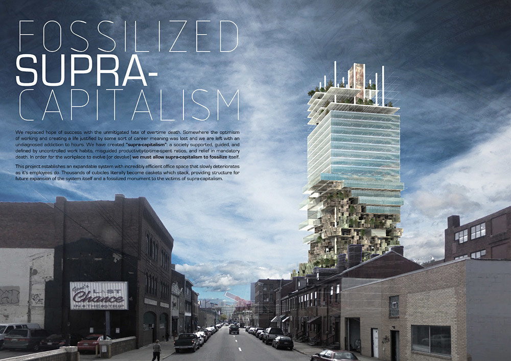 2nd Prize: Fossilized Supra-Capitalism by by Marshall Ford (USA)