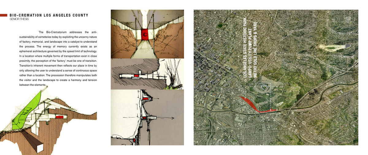Location and massing sketches