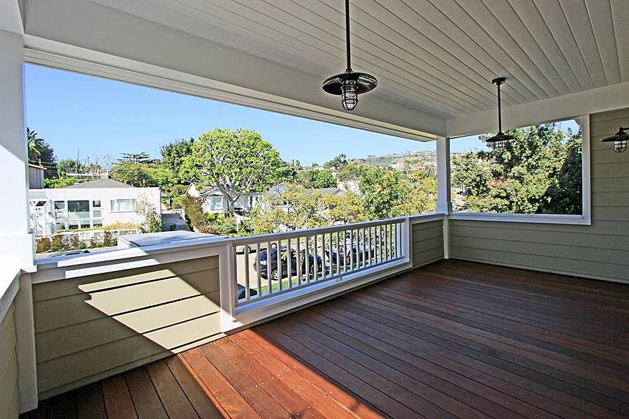 Master Deck with Views