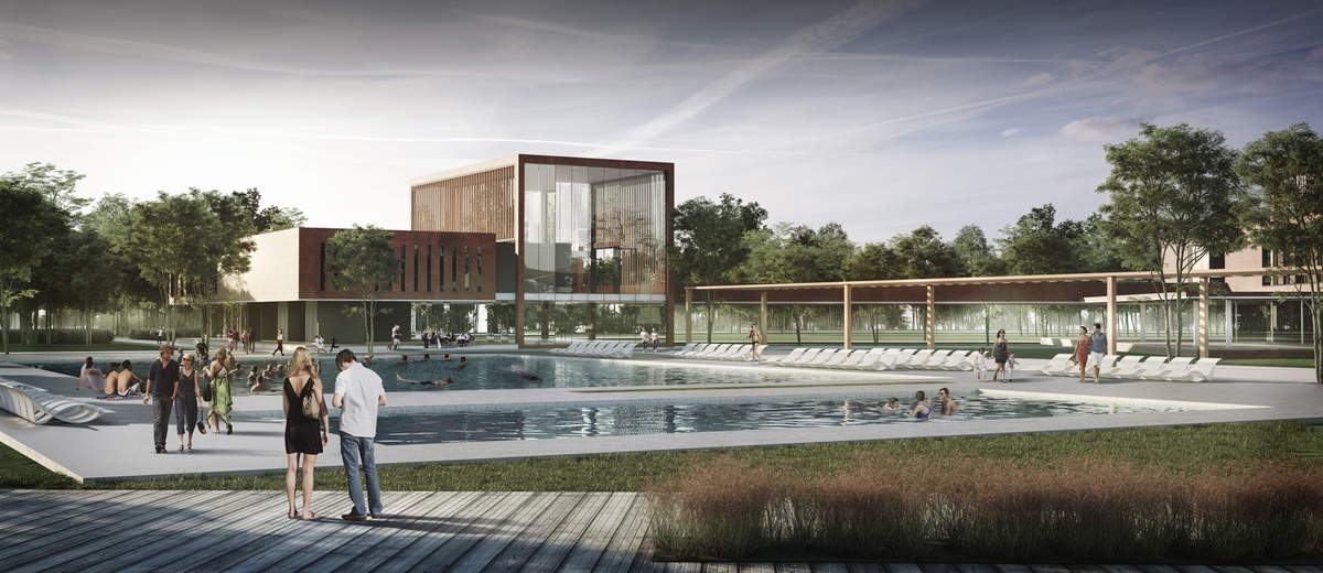 034 – FOCAL POINT 4 | PERSPECTIVE - Image Courtesy of ONZ Architects & MDesign