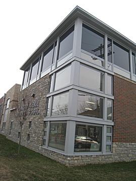 Exterior Detail, Livingston Avenue Elementary School