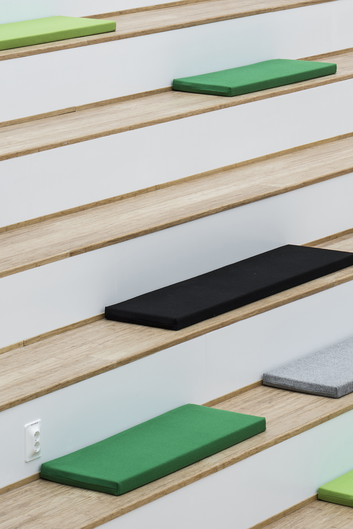 Multi-functional stair for lectures and events_photo Wilhelm Rejnus & Linus Flodin