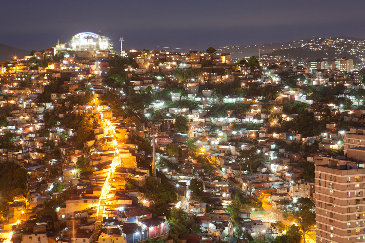 Caracas Metro Cable. Credit U-TT / Daniel Schwartz.