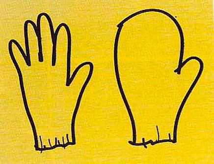 Figure 12 - Venturi and Scott Brown, the glove and the mitten