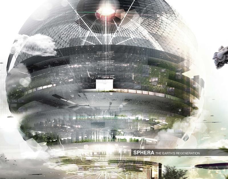 Honorable Mention: Sphere Skyscraper