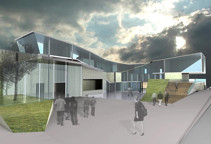 rendering of main entry