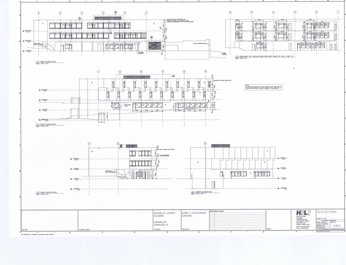 Elevations - Early Childhood Center
