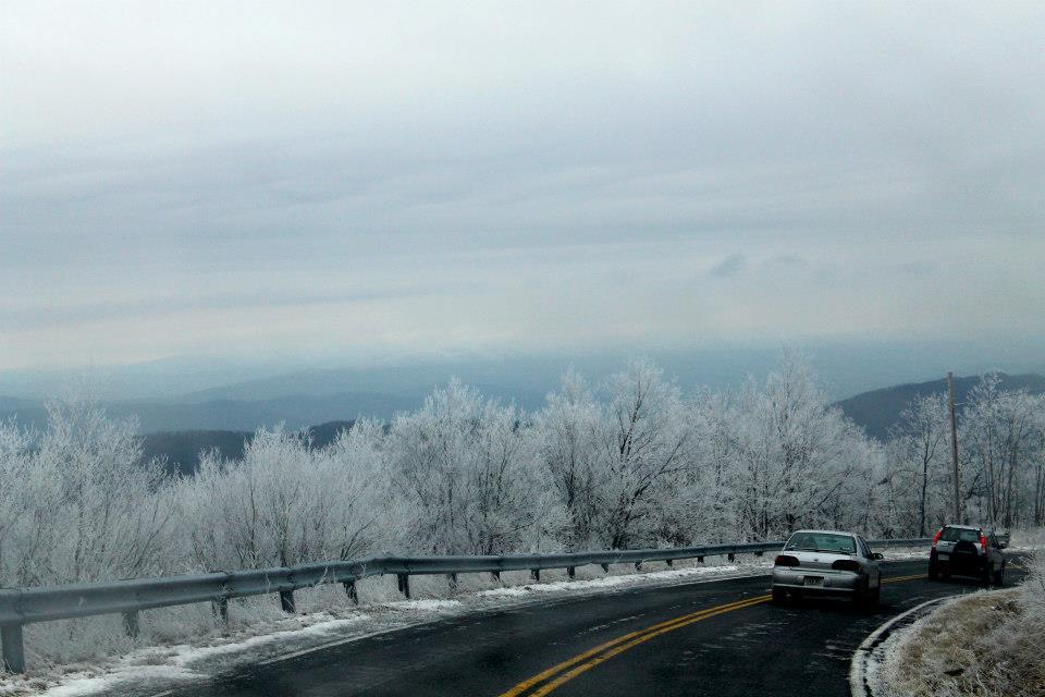 Beautiful Blue Ridge Mountains