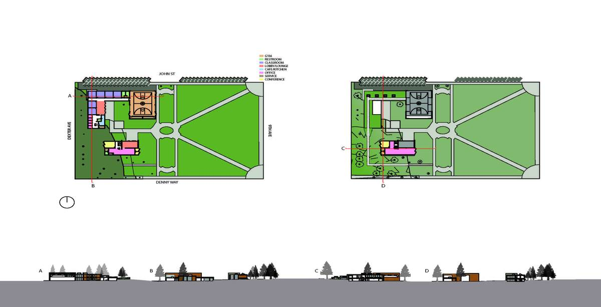 Plans and Sections