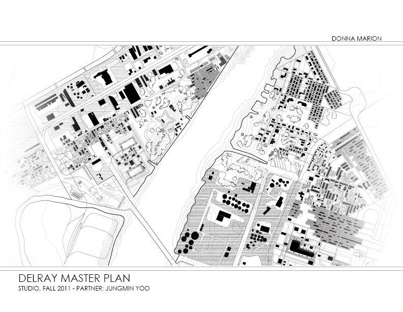 Delray, Sandwich Master Plan overview