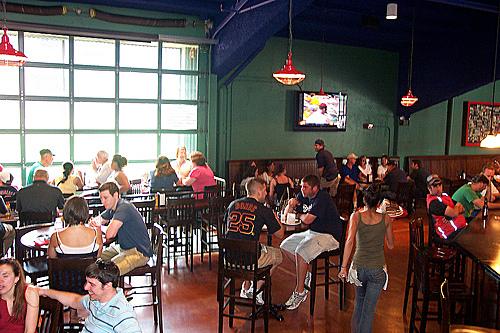Bleacher Bar at Fenway Park