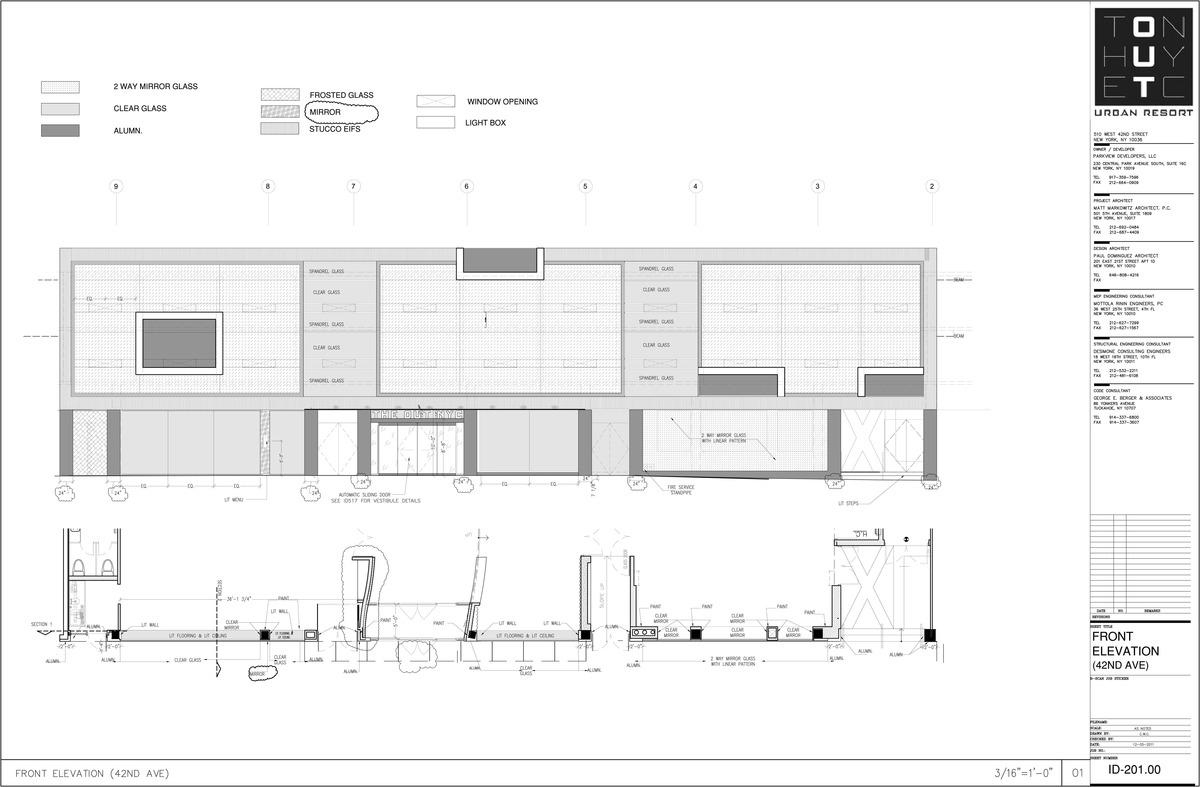 Elevation - My sample drafting