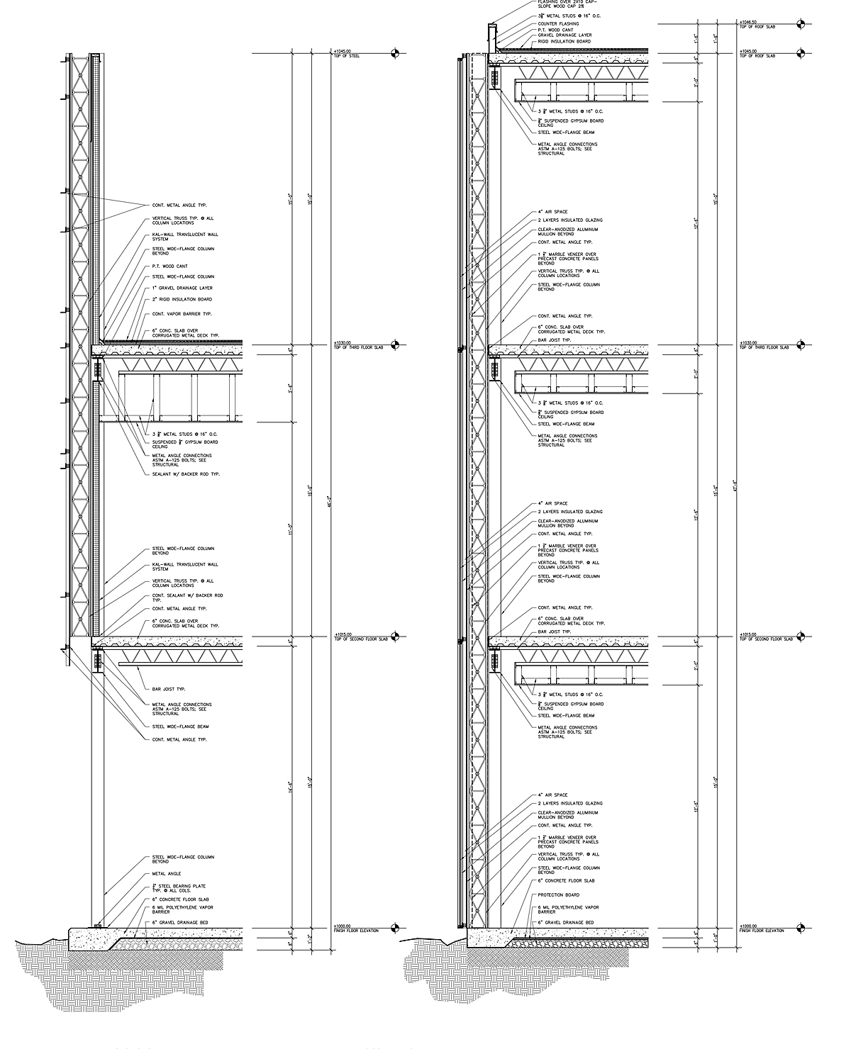 Wall Sections