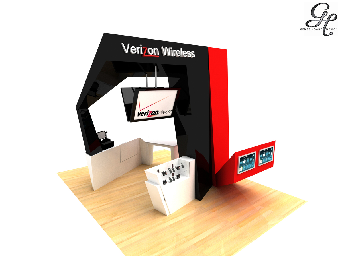 Verizon Kiosk Design