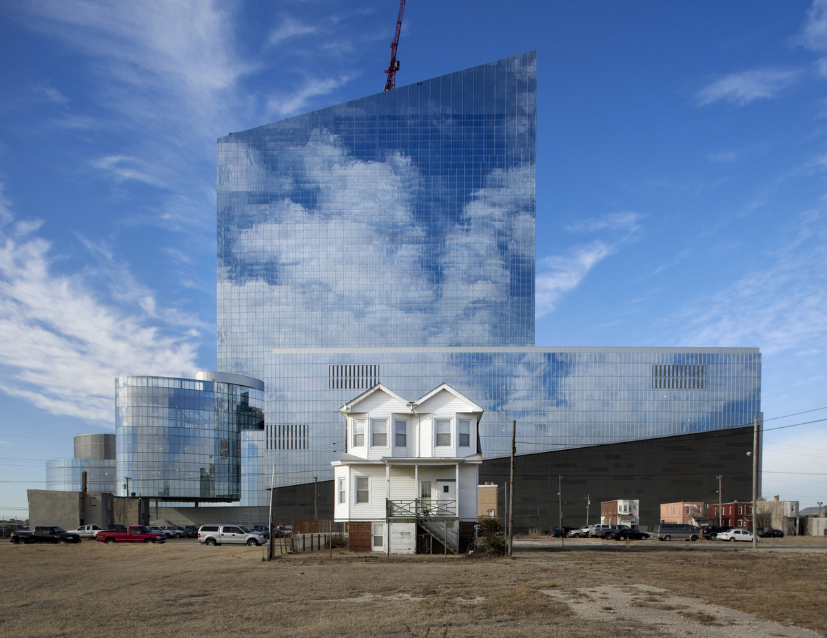 Richard Barnes, Dwelling and Casino, Atlantic City, 2011