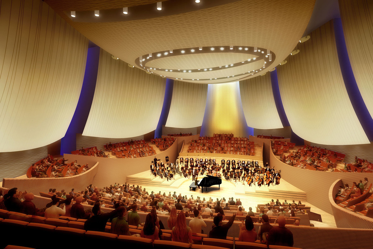 Bing Concert Hall - Composite Acoustical Panels (Image: Ennead Architects)