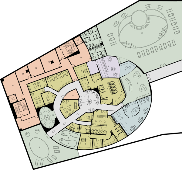 Pure Spa First Floor Plan.