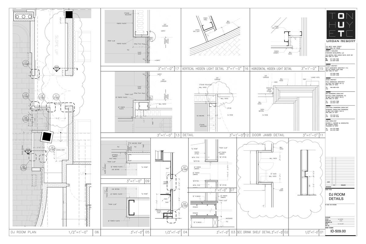 Enlarged Dj Room & Details- My sample design of custom details