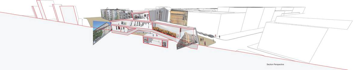 Perspective section illustrating the views and how they work