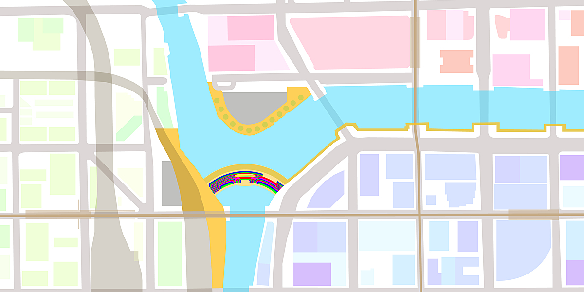 Focusing on the Three Branches Dam, the dam finishes the city's Downtown River Walk and unites Chicago's North, South, and West Sides.