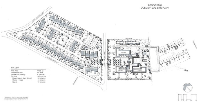 BAY HARBOR - Site Plan