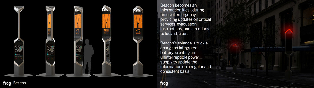 Visual Design Award: Beacon by frog design (Courtesy NYC Mayor's Office)