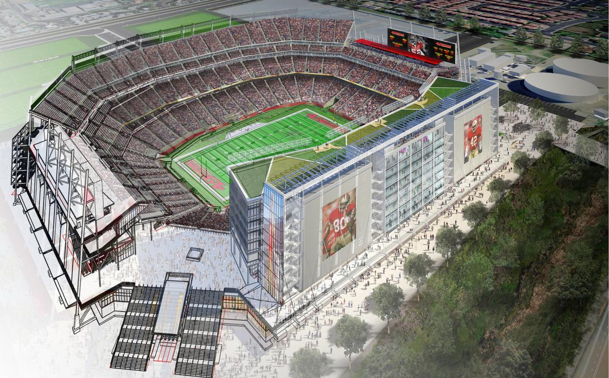 49er's Stadium and BIM (image copyright: Joseph Xiong)