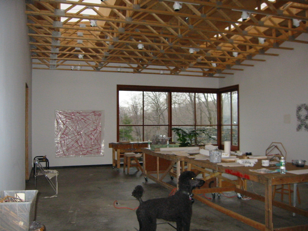 Studio Interior and Corner Window