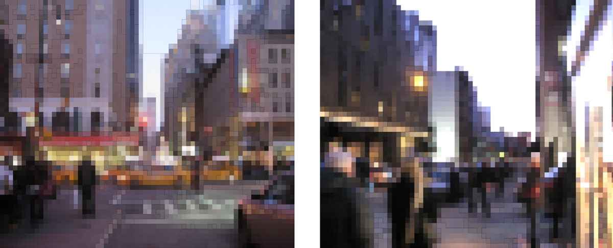 color study reveals active spaces highlighted at night