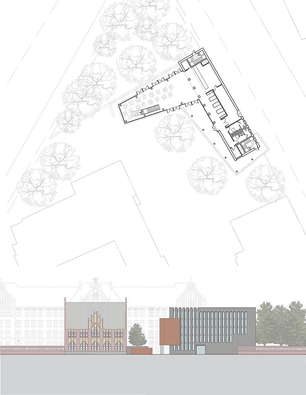 Ground Floor Plan & Street Elevation