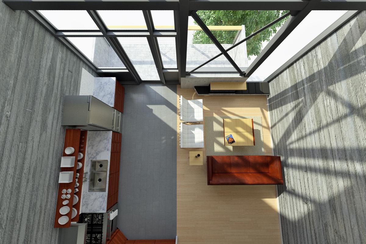 Seconf Floor Living Room
