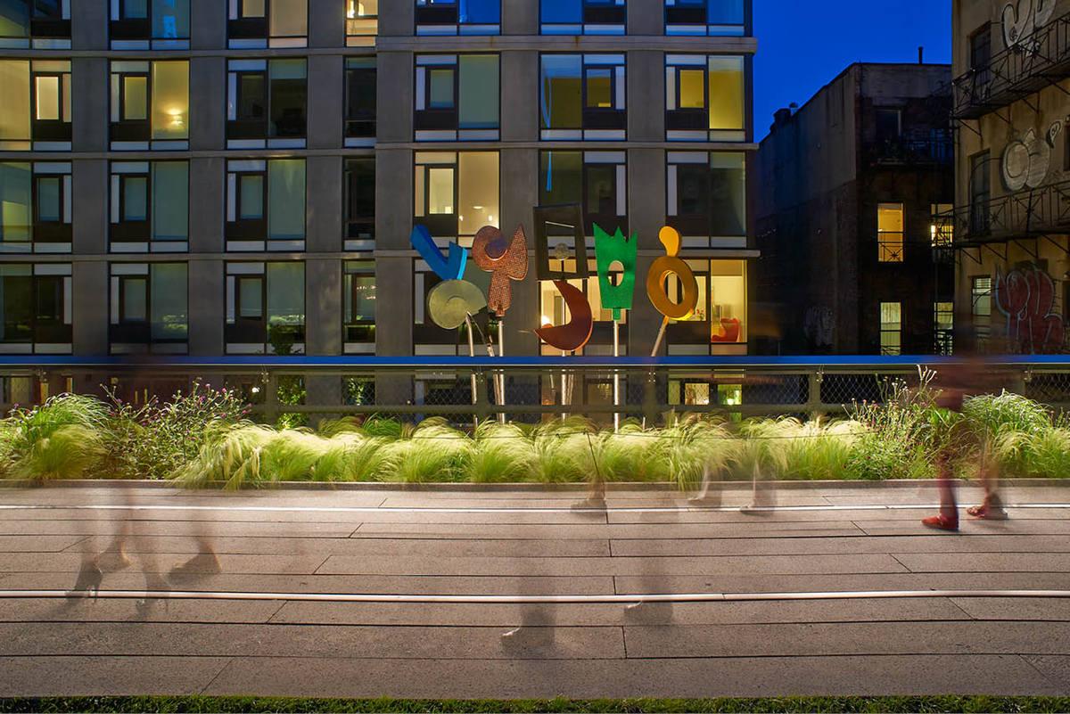 'Urban Rattle' sculpture by Charlie Hewitt