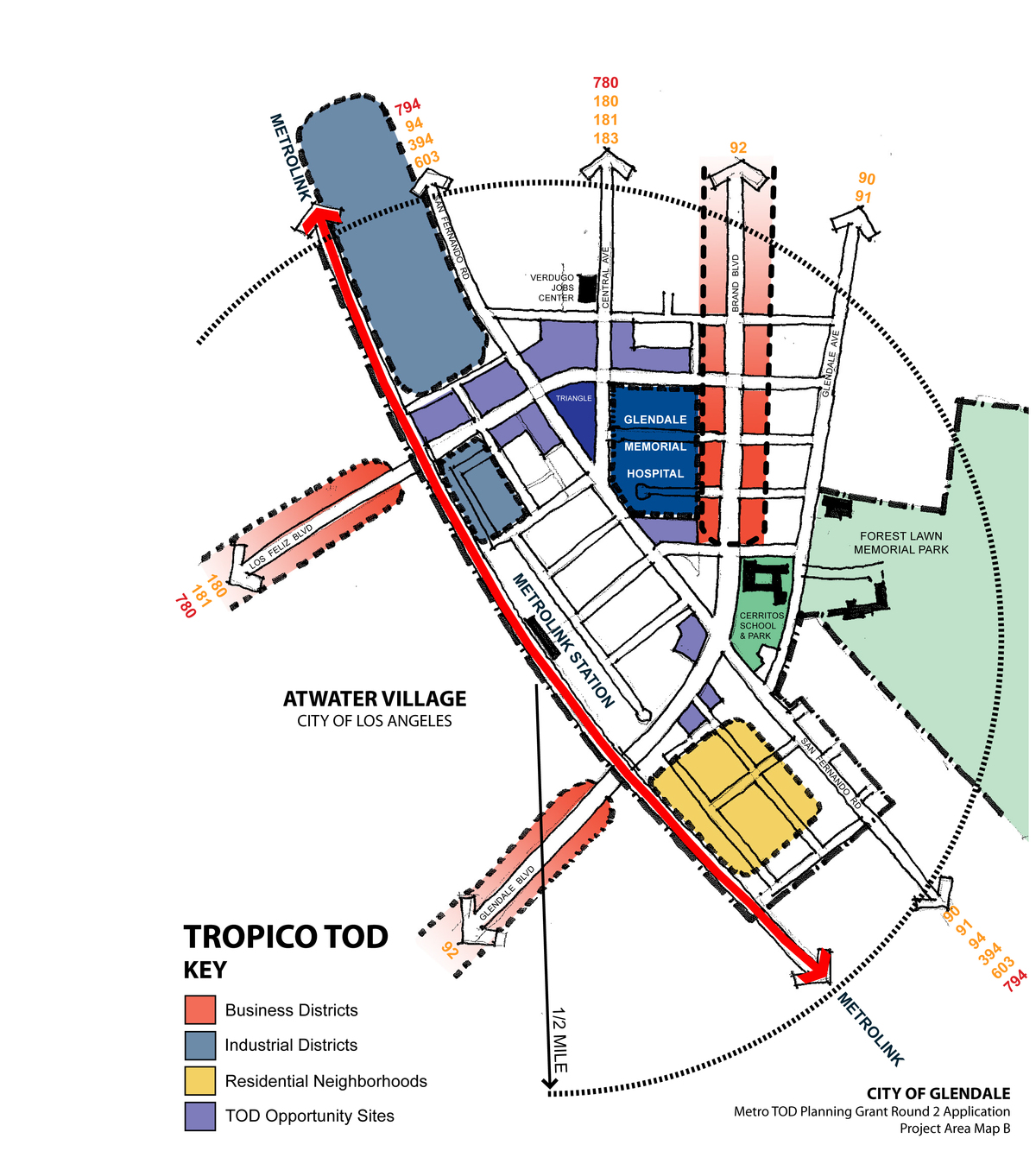 Tropico Station Study Area