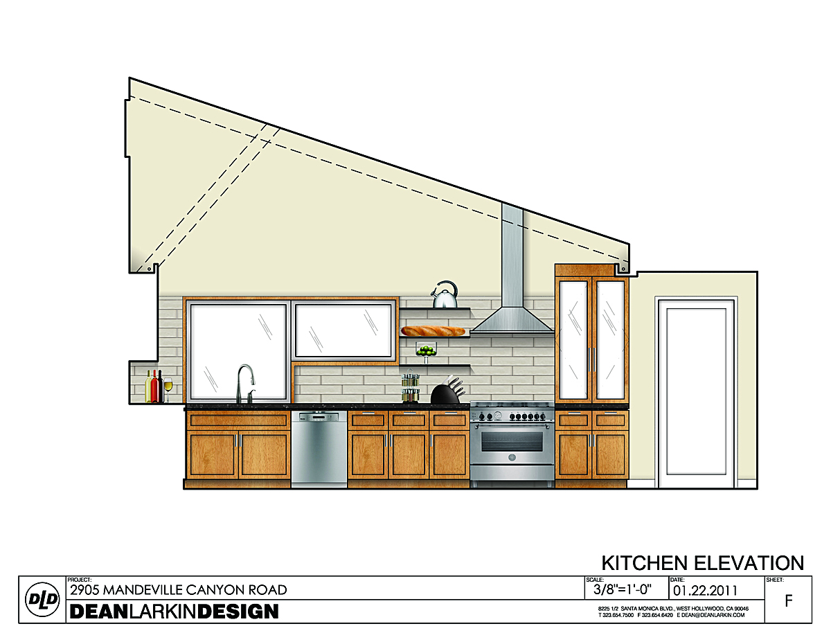 Kitchen - elevation