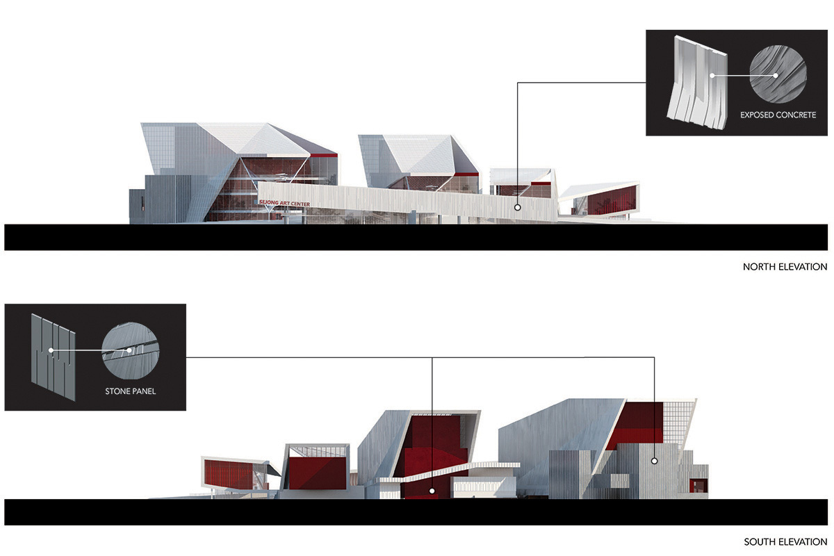 Elevations 2 (Image: H Architecture & Haeahn Architecture)