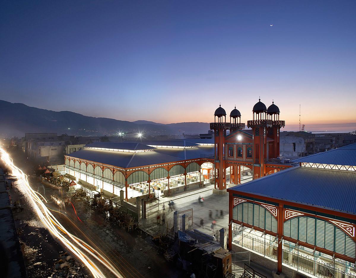 Iron Market in Port-au-Prince, Haiti (Photo: Hufton & Crow)