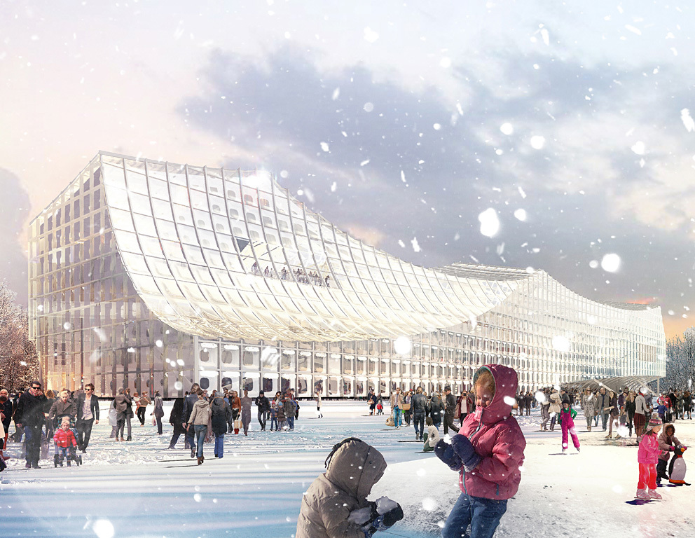 Projects Merit Award Winners: Helsinki Central Library in Helsinki, Finland by Platform for Architecture + Research (Image Credit: Platform for Architecture + Research)