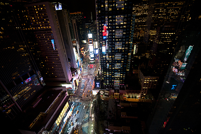 Opening Night on the 33rd floor of 1500 Broadway, Times Sq, NY (copyright Happy Famous Artists)