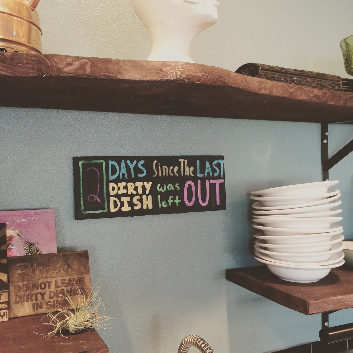 Helpful reminders at OpenDoor's Canopy location. Photo courtesy of Jay Standish/OpenDoor.
