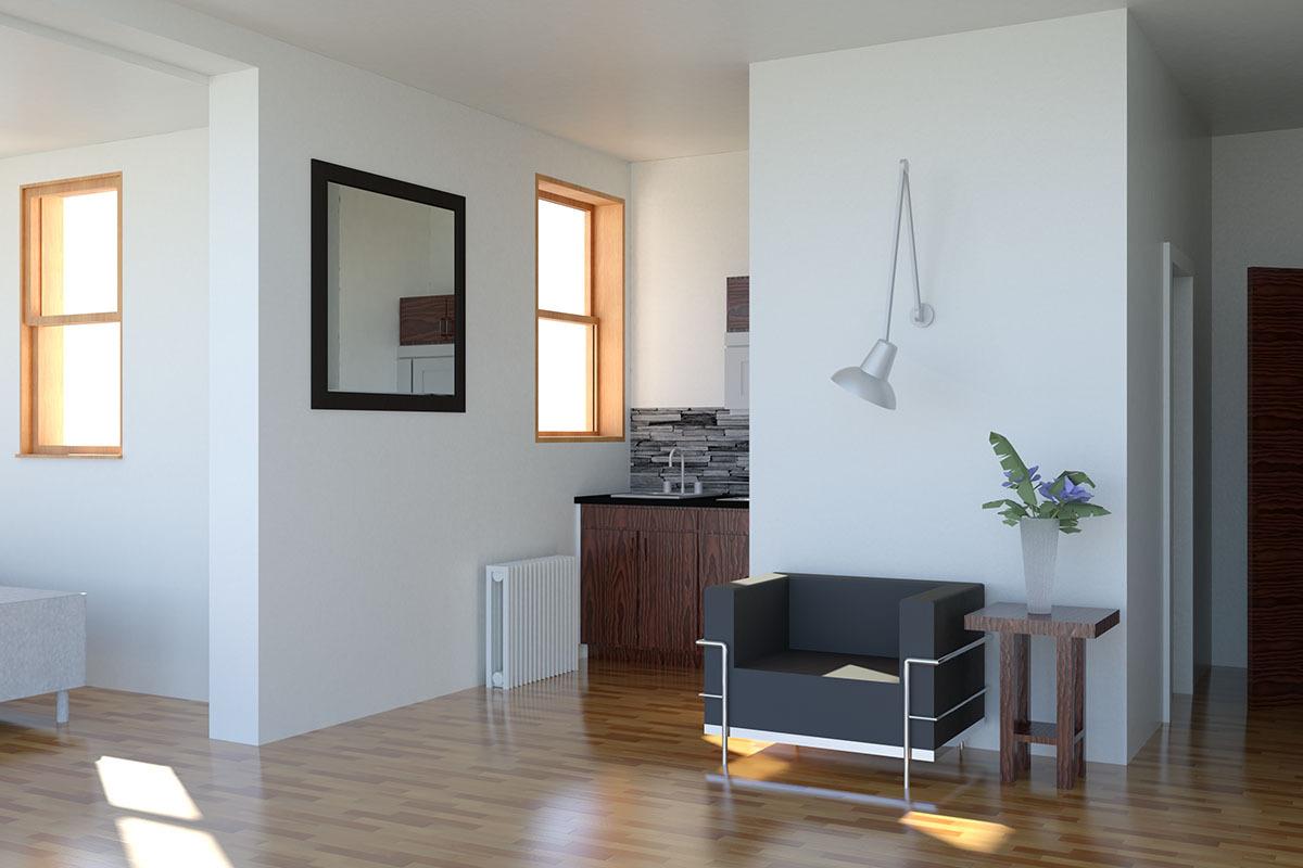 Renovated Apartment Interior