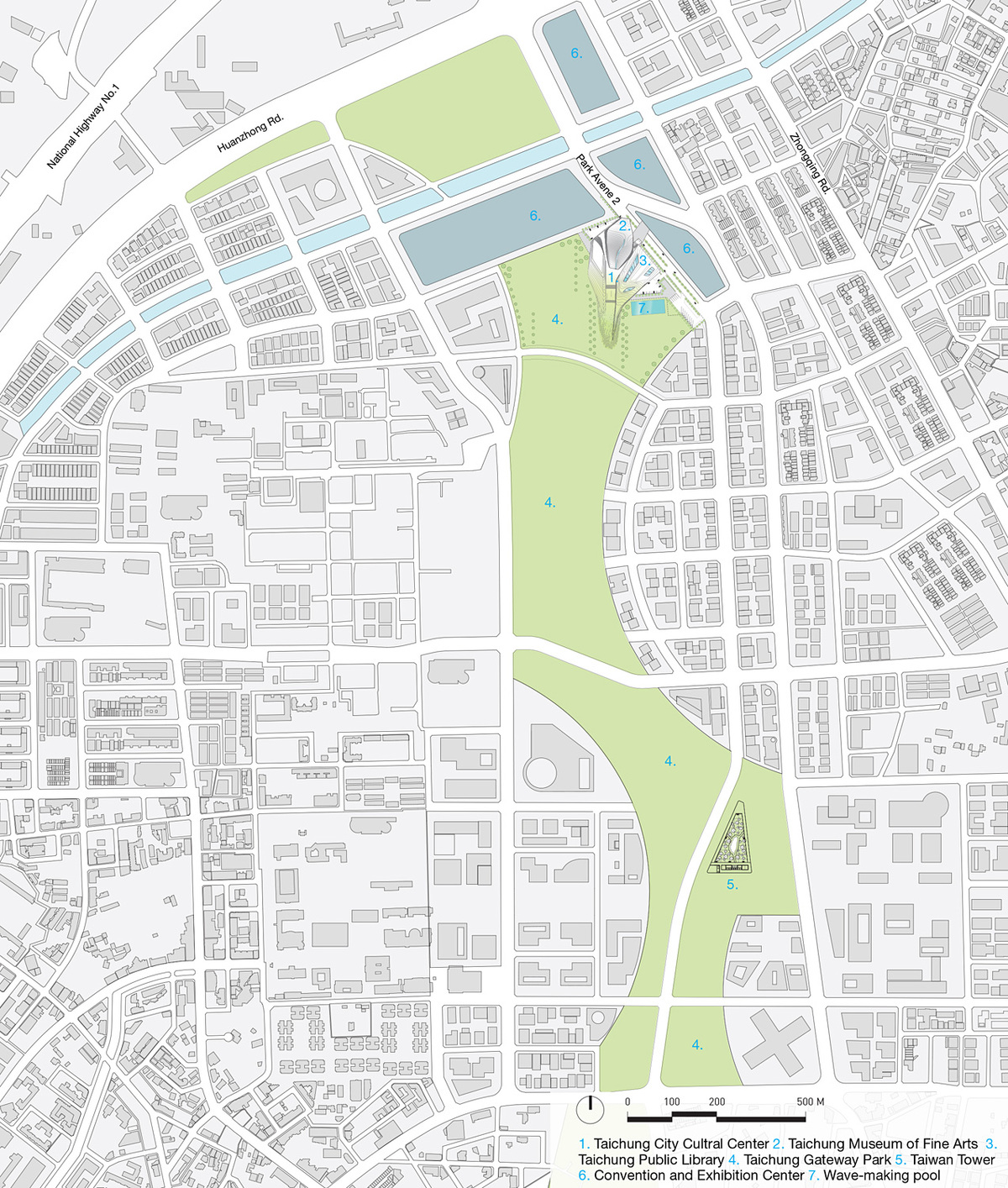 Vicinity site plan 1 (Image: Patrick Tighe Architecture)