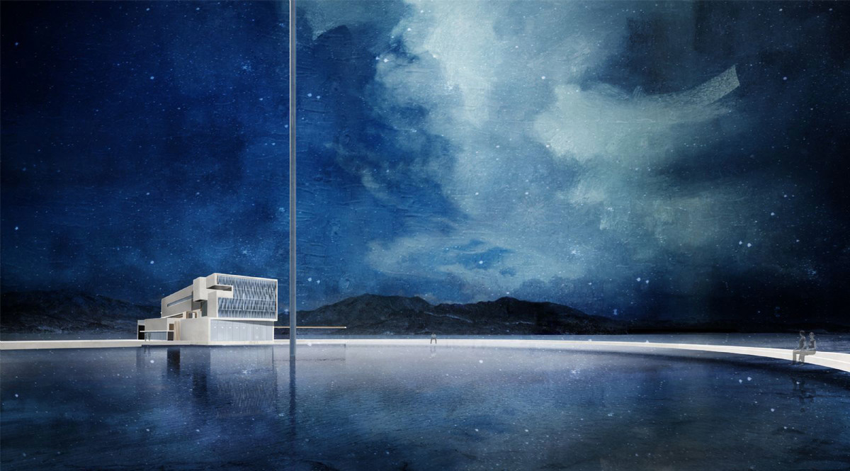 Finalist: Triet Le, UNIVERSITY OF OREGON-SCHOOL OF ARCHITECTURE AND ALLIED ARTS (STUDENT DIGITAL/MIXED)