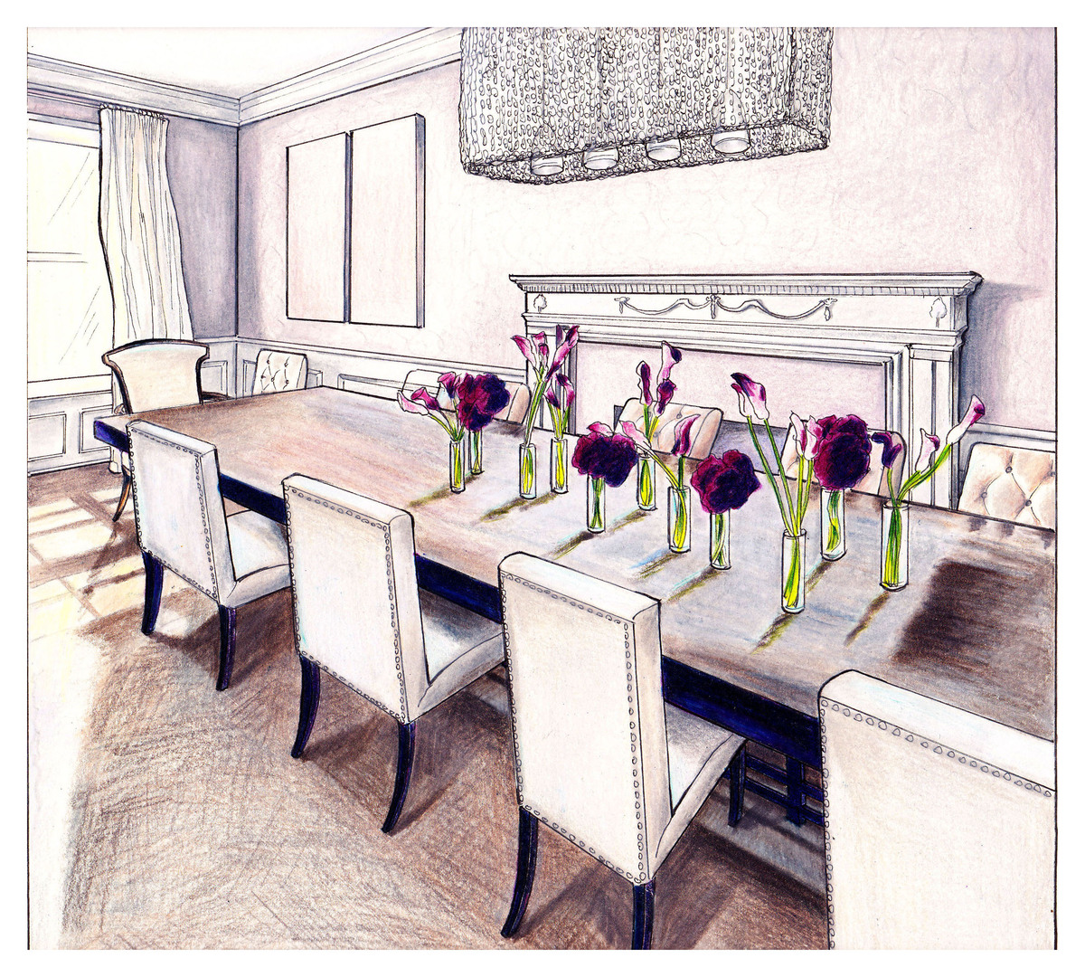 Michelle Workman Interiors Dining Room
