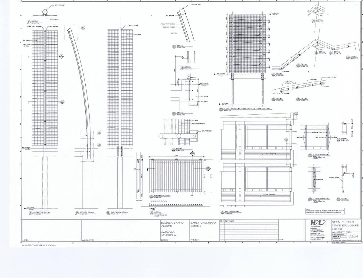 Details - Field Fence Enclosure