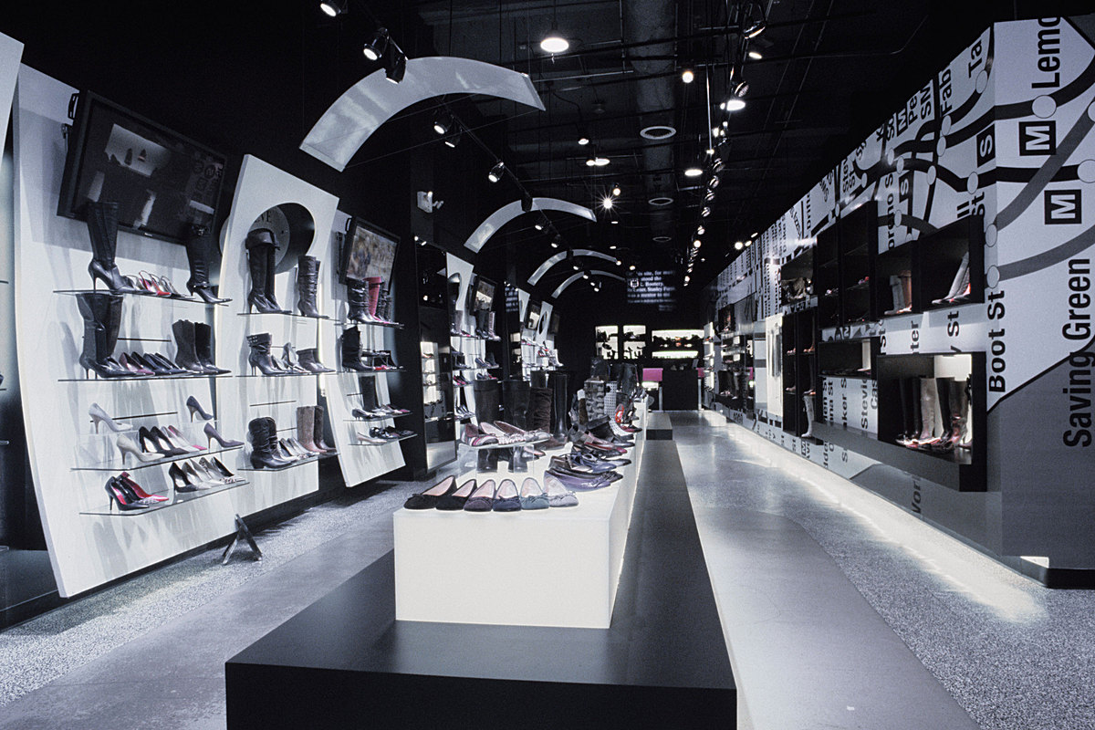 Interior renovation of the FLAGSHIP store.