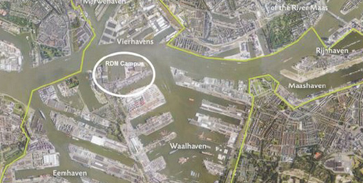 Planning context for the site. Image courtesy of the Piet Zwart Institute.