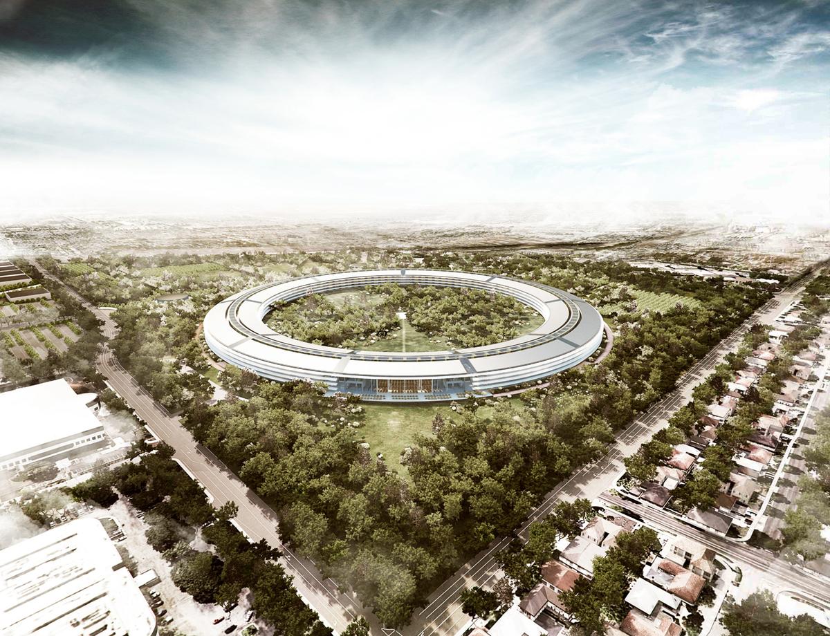 Copyright: Foster + Partners; Apple Inc.