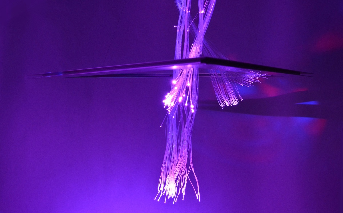 Triangulation purple