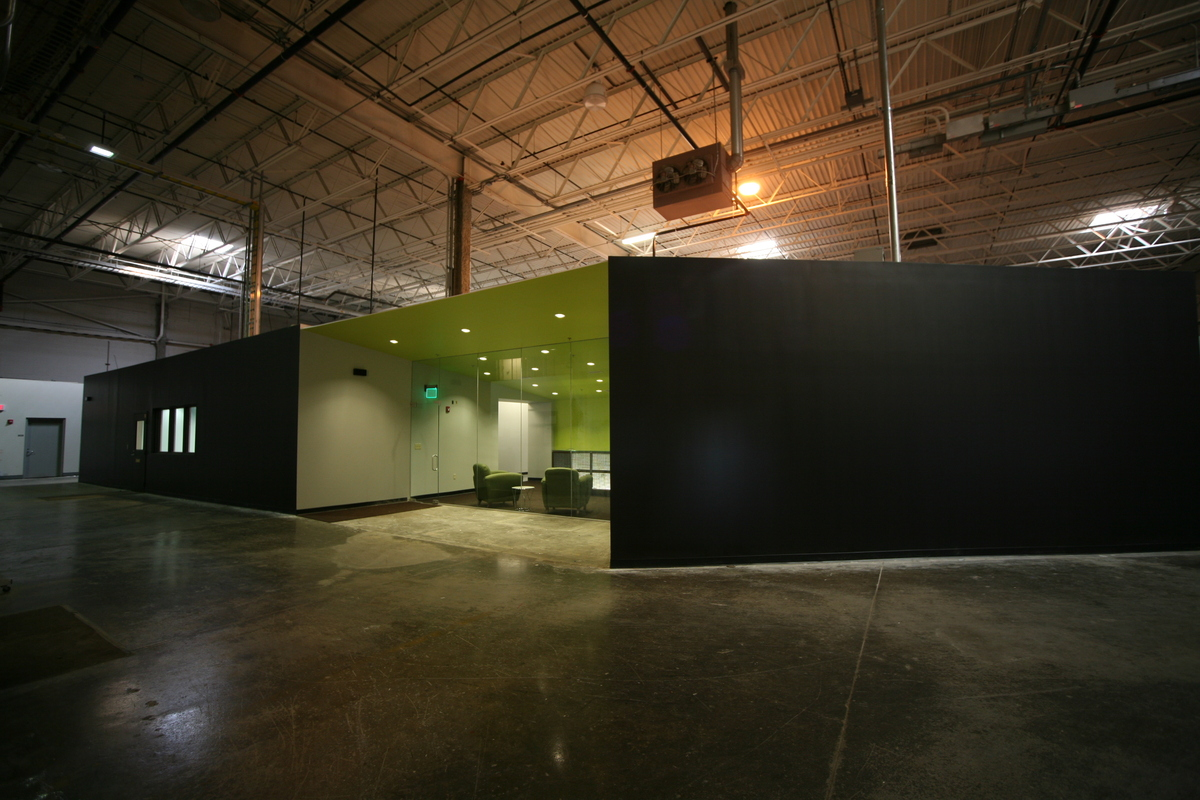 Office in a Warehouse